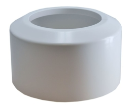 Riko klemrozet 110x176 mm (tbv afvoer) wit