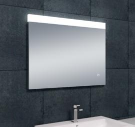 Wiesbaden Single dimbare LED condensvrije spiegel 80x60x3 cm