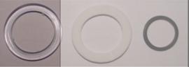 Revisie-setje rubberen ringen voor afdichting (tbv clickwaste)