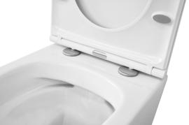 Wiesbaden Vesta Junior rimless wandcloset 47 cm + Flatline softclose zitting