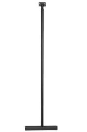 luxe badkamer-vloerwisser+ophanging mat-zwart