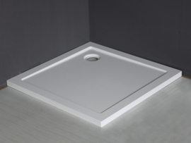 Wiesbaden douchebak SMC vierkant 90x90x4 cm