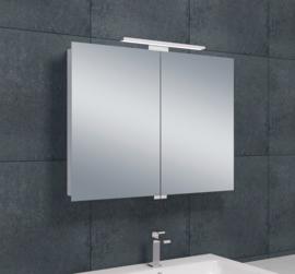Wiesbaden luxe spiegelkast met LED verlichting 80x60x14 cm