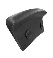 Relax hoofdkussen voor ligbaden zwart