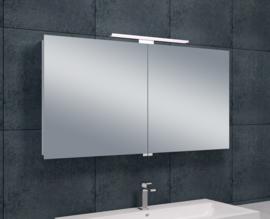 Wiesbaden luxe spiegelkast met LED verlichting 120x60x14 cm
