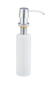 Wiesbaden Inbouw zeeppompje 250 ml, chroom