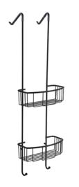 Domo mat-zwart ophangrek 80 cm (tbv glazen wand)