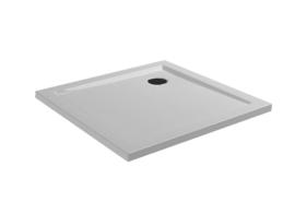 Wiesbaden douchebak acryl vierkant 90x90x4 cm