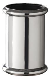 chroom koppelstuk 32mm tbv vloerbuis