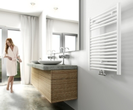 Wiesbaden Elara sierradiator 76,6x60 cm wit, antraciet of chroom