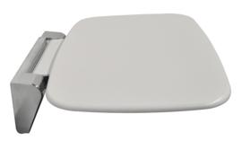 douche-stoel wandmontage opklapbaar wit