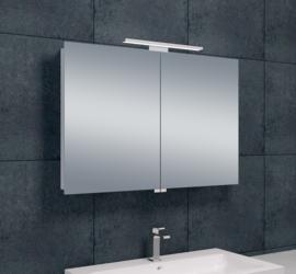 Wiesbaden luxe spiegelkast met LED verlichting 90x60x14 cm