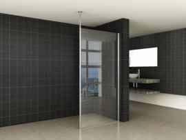 Wiesbaden set verticale stabilisatiestang + plafond bevestiging, chroom