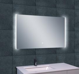 Wiesbaden Duo LED condensvrije spiegel 100x60x3,8 cm