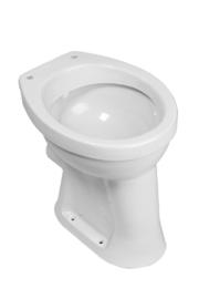Staande, verhoogde toiletpot +6 PK