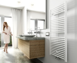 Wiesbaden Elara sierradiator 118,5x60 cm wit, antraciet of chroom