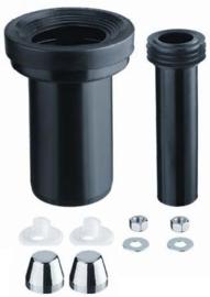 Riko wandcloset aansluitset met keuze uit 90-110 180 mm of 90-110 300 mm