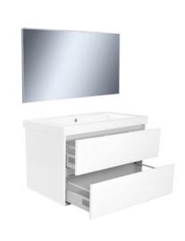 Vision meubelset (incl. spiegel) 80 cm wit