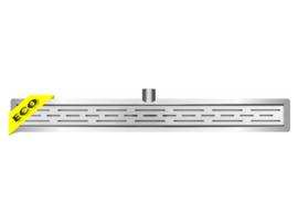 Eco RVS douchegoot met flens 20-100 cm
