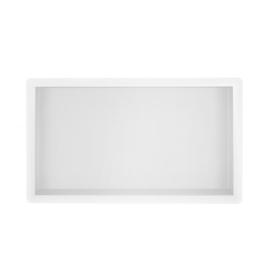 Wiesbaden inbouwnis 30x60x10cm mat wit