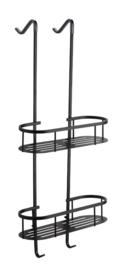 Style mat-zwart ophangrek 80 cm (tbv glazen wand)