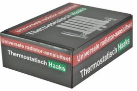 Riko luxe therm. radiator aansluitset haaks