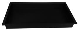 Inbouwnis 30x60x10cm mat-zwart