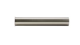 sifon-verlengbuis 20cm met kraag geborsteld staal