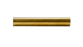 sifon-verlengbuis 20cm met kraag geborsteld messing