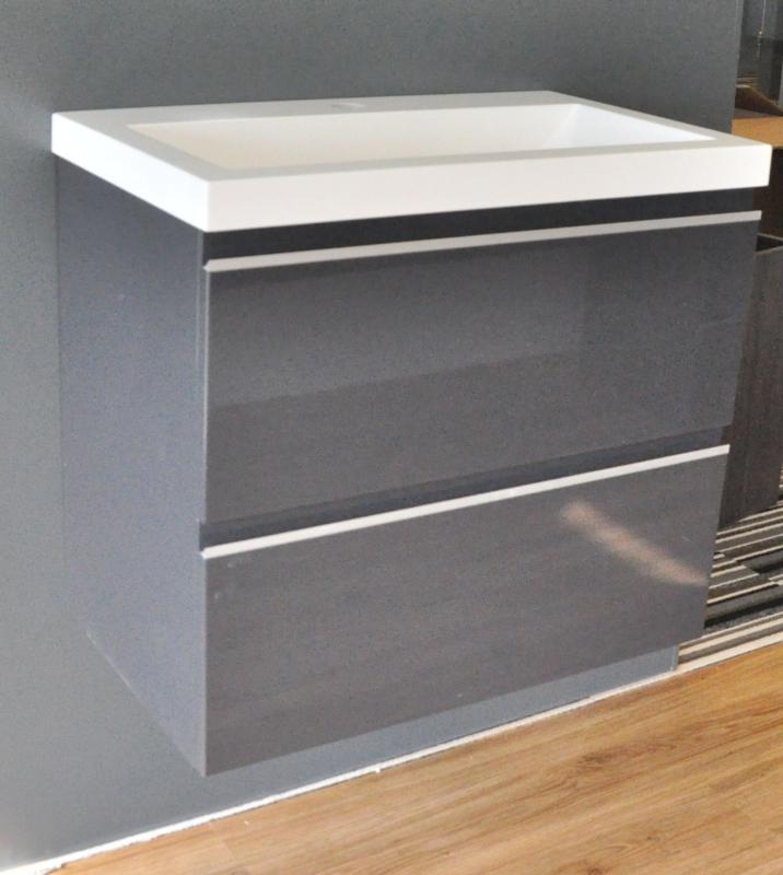 Wiesbaden onderkast hoogglans grijs 60x36x50, 80x36x50 of 100x36x50 cm