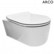Wiesbaden Arco wandcloset 55 cm + Flatline softclose zitting