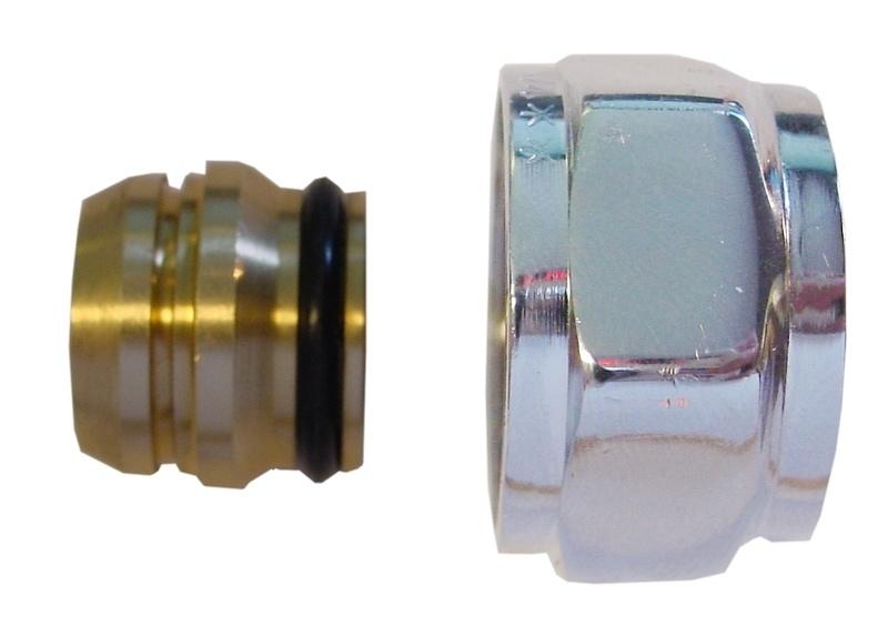 Riko adaptor euroconus/knel 15 mm