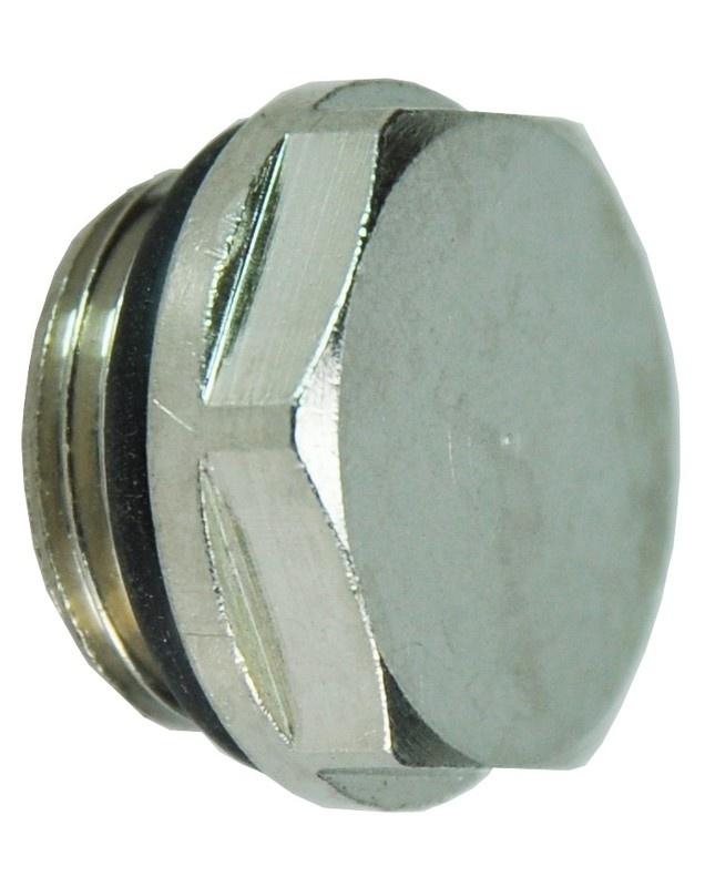 """Radiator blindstoppen + O-ring 1/2"""""""