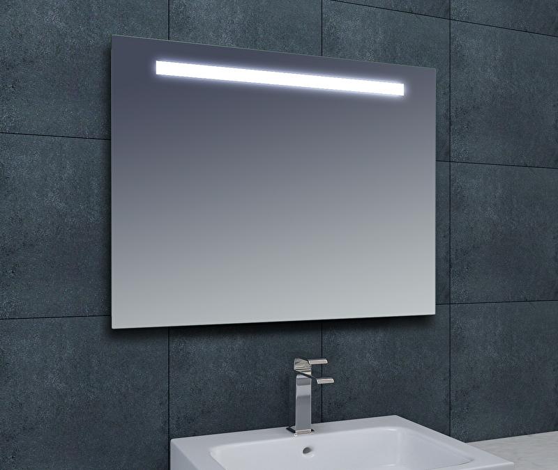 Wiesbaden Tigris spiegel met LED verlichting 120x80x3,1 cm