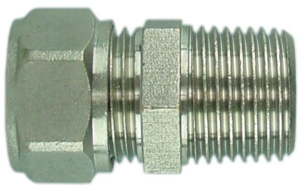 "Radiatorkoppeling 1/2""x15 mm knel recht"