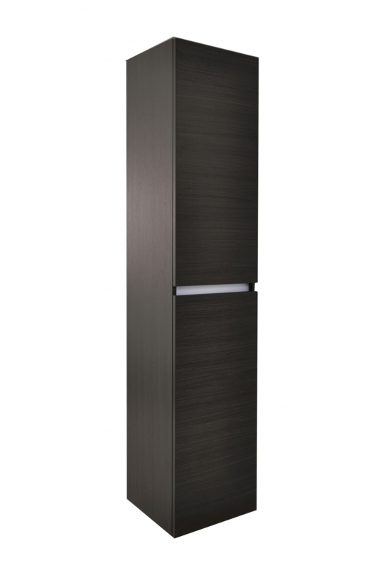 Wiesbaden Vision kolomkast 160x35x35 cm houtnerf grijs