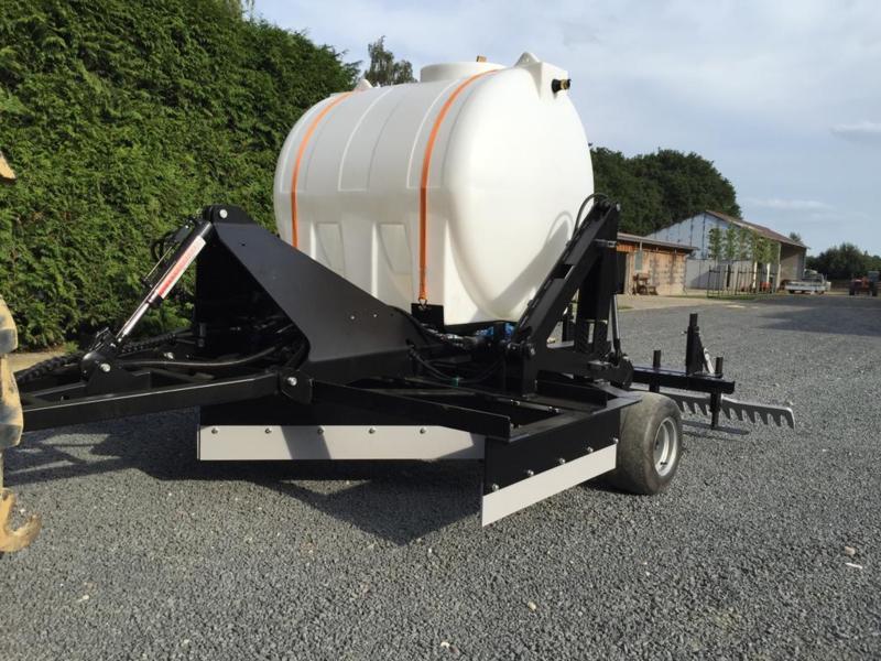Watersysteem 2000 liter tank