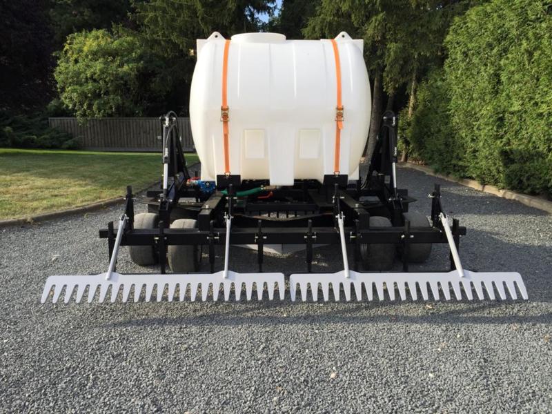 Watersysteem met 500 liter tank