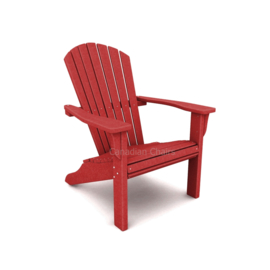 Loggerhead Muskoka chair Cherry red
