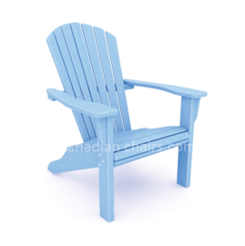 Loggerhead Muskoka chair powder blue