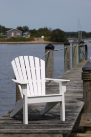 Seaside Casual shellback chair - Charcoal