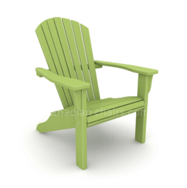 Loggerhead Muskoka chair Leaf / Lime green