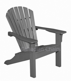 Combo deal: Seaside Casual adirondack chair, footrest and side table in charcoal