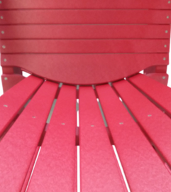 Classic Cabane chair cardinal red