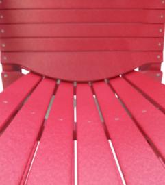 Loggerhead Muskoka chair Cherry red