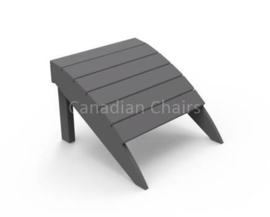 Seaside Casual Footrest Charcoal (07028)