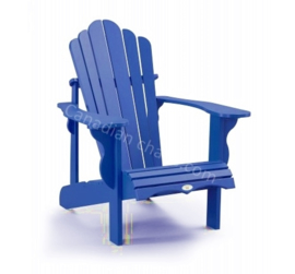LeisureLine Adirondack chair - Royal blue