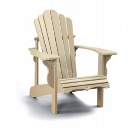 LeisureLine Adirondack chair- Tan