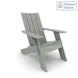 Modern Cabane chair dark grey