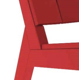 MAD fusion chat chair - Cherry